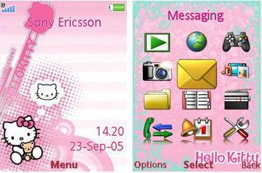 تم سونی اریکسون : Hello Kitty